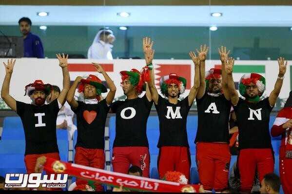 صور من لقاء عمان و الكويت