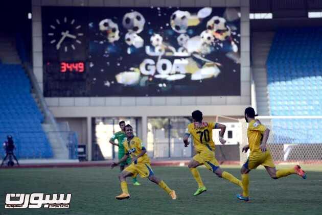 صور من لقاء الخليج والتعاون