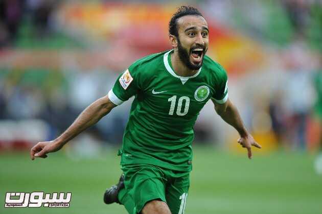 صورة مواجهة المنتخب السعودي أمام نظيره المنتخب الكوري الشمالي