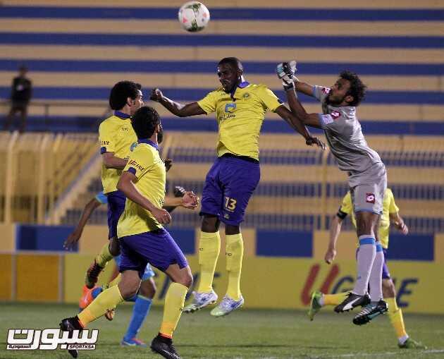 صور من مباراة النصر و الفتح الودية