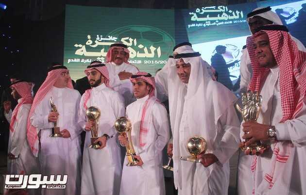 صور من حفل جائزة الكرة الذهبية