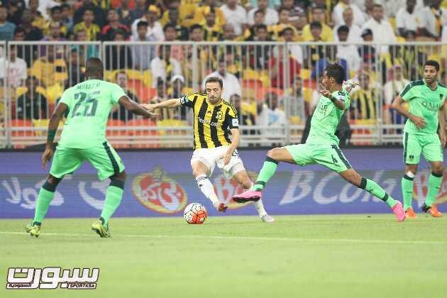 صور من مباراة الاتحاد و الاهلي
